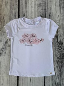 Blusa Infantil com Estampa Tulipa Rosa