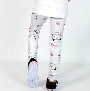 Legging Comprida Gatinhos