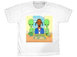 Camiseta Snoop Dogg Alien