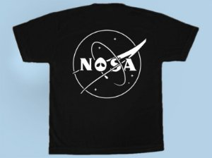 Camiseta Nasa X Alien