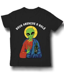 Camiseta Deus Abençoe o Rolê