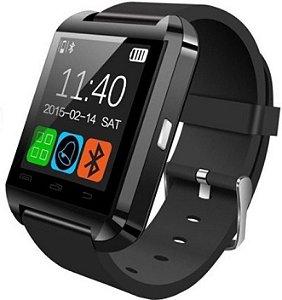 Relógio Smartwatch Bluetooth Inteligente U8 Atende Ligações