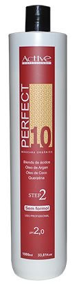 PERFECT 10 - MÁSCARA ORGÂNICA - ESCOVA PROGRESSIVA SEM FORMOL