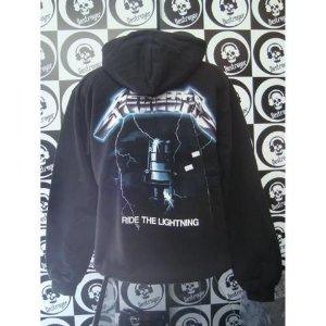 Moletom Metallica - Ride the lightning - Estampa nas costas