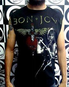 Camiseta Regata Machão - Bon Jovi