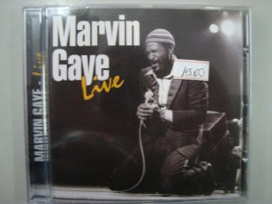 CD Marvin Gaye - Live