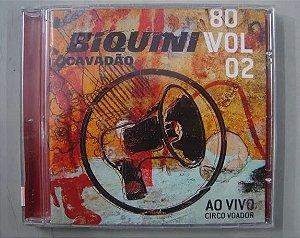 CD Biquini Cavadão - Anos 80 - Ao vivo Circo Voador Vol.2