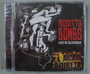 CD Ação Direta - Risotto Bombs - Live in Slovenija