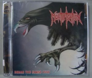 CD Mortification - Break the Curse 1990