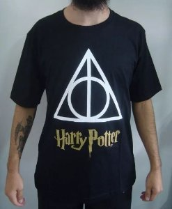 Camiseta Harry Potter - Relíquias da morte