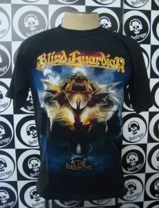 Camiseta Blind Guardian - At the Edge of time
