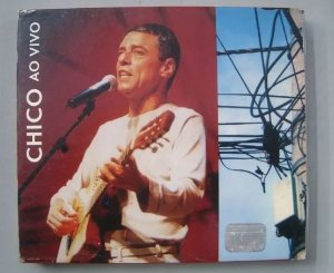 CD Chico Buarque - Chico ao vivo