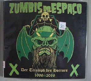 CD Zumbis do Espaço - Der Triumph des Horrors - 1996 - 2016