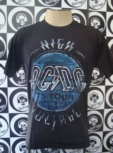 Camiseta AC DC - High Voltage
