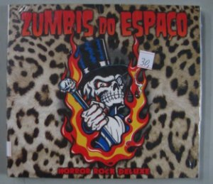 Cd Zumbis Do Espaço - Horror Rock Deluxe