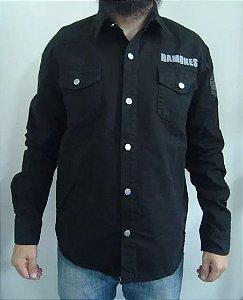 Camisa de Sarja - Ramones