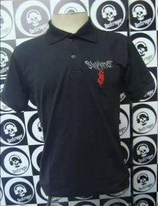 Camiseta Polo - Slipknot
