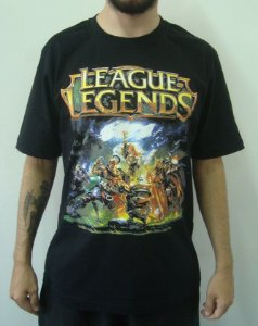 Camiseta Promocional - League of Legends