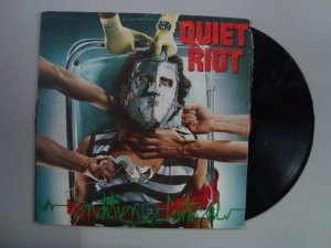 Disco de vinil - Quiet Riot - Condition Critical