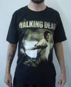 Camiseta Promocional - The Walking Dead - Daryl