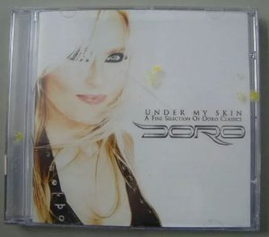 Cd - Doro - Under My Skin - Coletânea