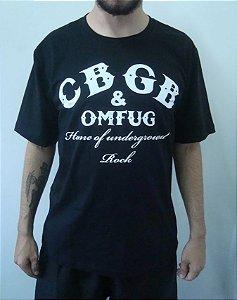 Camiseta Promocional - CBGB - Home of Underground Rock