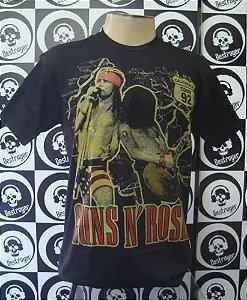 Camiseta Guns And Roses - Califórnia Tour 92