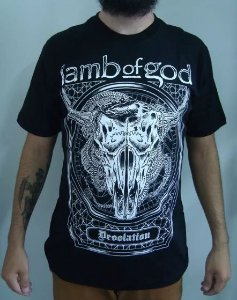 Camiseta Lamb Of God - Desolation