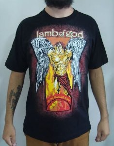 Camiseta Lamb of God - As The Palaces Burn