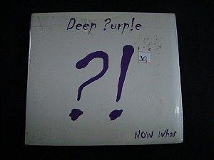 CD Deep Purple - Now What ?! + DVD Bônus