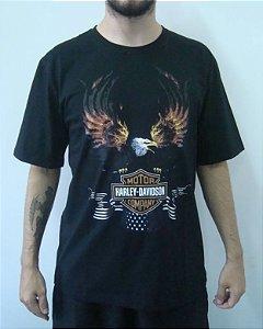 Camiseta Promocional - Harley Davidson - Águia