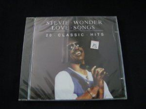 CD Stevie Wonder - Love Songs - 20 classic hits