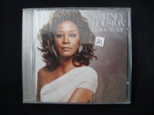 CD Whitney Houston - I Look to You