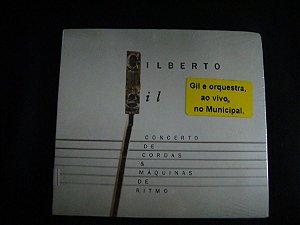 CD Gilberto Gil - Concerto de cordas e máquinas de ritmo