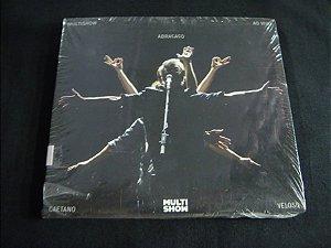 CD Caetano Veloso - Abraço - Ao vivo Multi Show