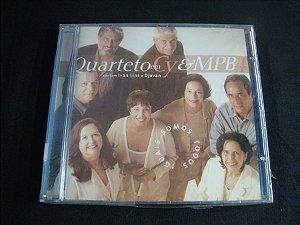 CD Quarteto em Cy e MPB 4 - Cantam Ivan Lins e Djavan