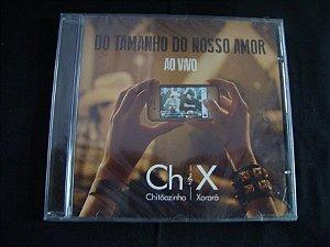 CD Chitãozinho e Xororó - Do tamanho do nosso amor - ao vivo