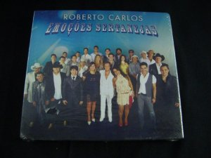 CD Roberto Carlos - Emoções Sertanejas