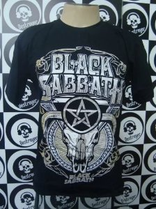Camiseta Black Sabbath - Skull