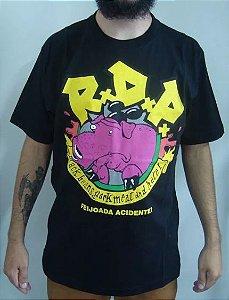 Camiseta Ratos de Porão - Feijoada Acidente!