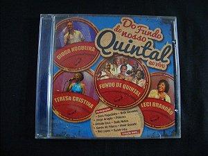 CD Do fundo do nosso quintal - Ao vivo