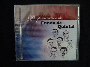 CD Performance de Fundo de quintal