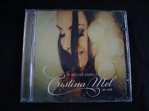 CD Cristina Mel - Ao vivo - Eu respiro adoração