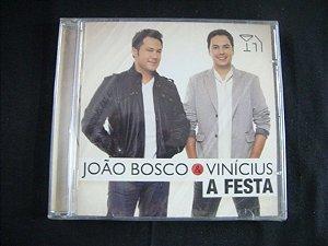 CD João Bosco e Vinicius - A festa