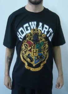 Camiseta Promocional - Harry Potter - Hogwarts