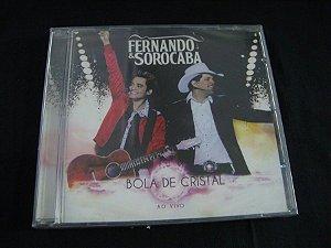 CD Fernando & Sorocaba - Bola de Cristal Ao vivo