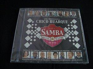 CD Samba Social Clube Ao vivo - homenagem a Chico Buarque