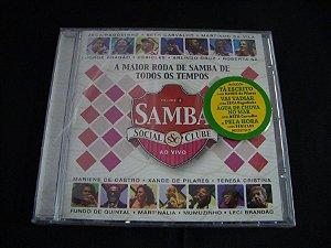 CD Samba Social Clube ao vivo - A maior roda de Samba de todos os tempos
