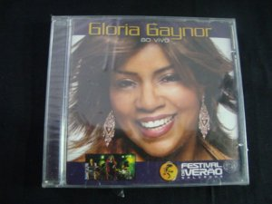 CD Gloria Gaynor - Ao vivo