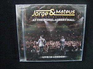 CD Jorge & Mateus - At the Royal Albert Hall - Live in London